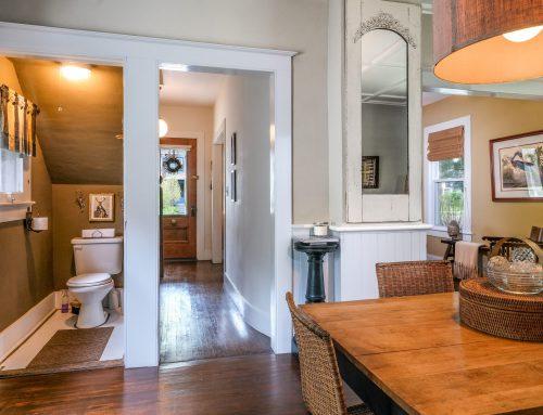 Dining Room with half bath – 5 Orchard Street