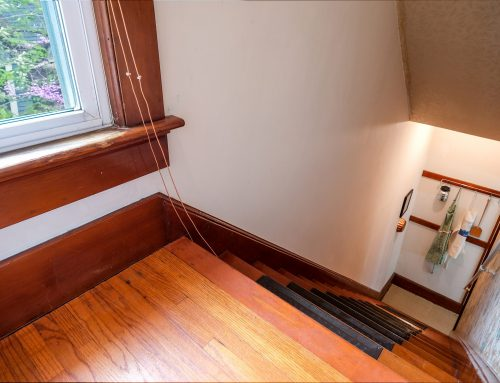 Back Stairs off Master Bedroom – 5 Orchard Street
