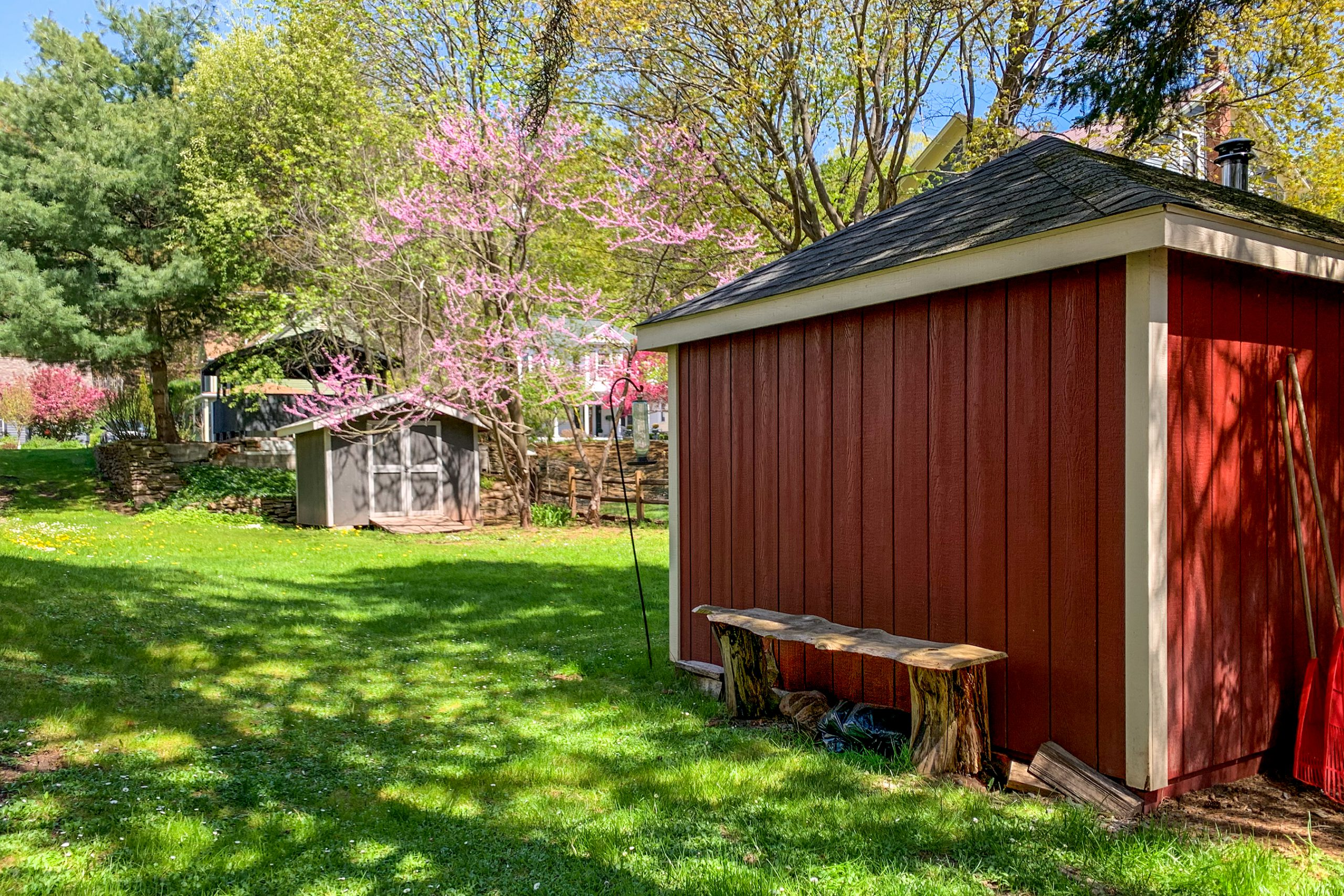 Back Yard and Heated Work Shed Yard - 5 Orchard Street
