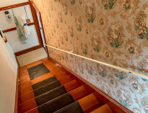 Back Stairs from Kitchen – 5 Orchard Street